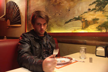 Chase Williamson in &quot;John Dies at the End.&quot;